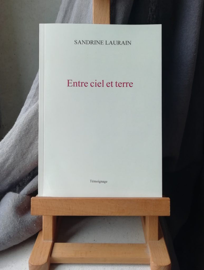 Recueil Entre ciel et terre Sandrine Laurain