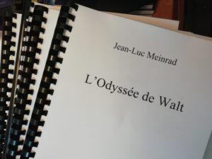 Envoi aux éditeurs du manuscrit de L'Odyssée de Walt